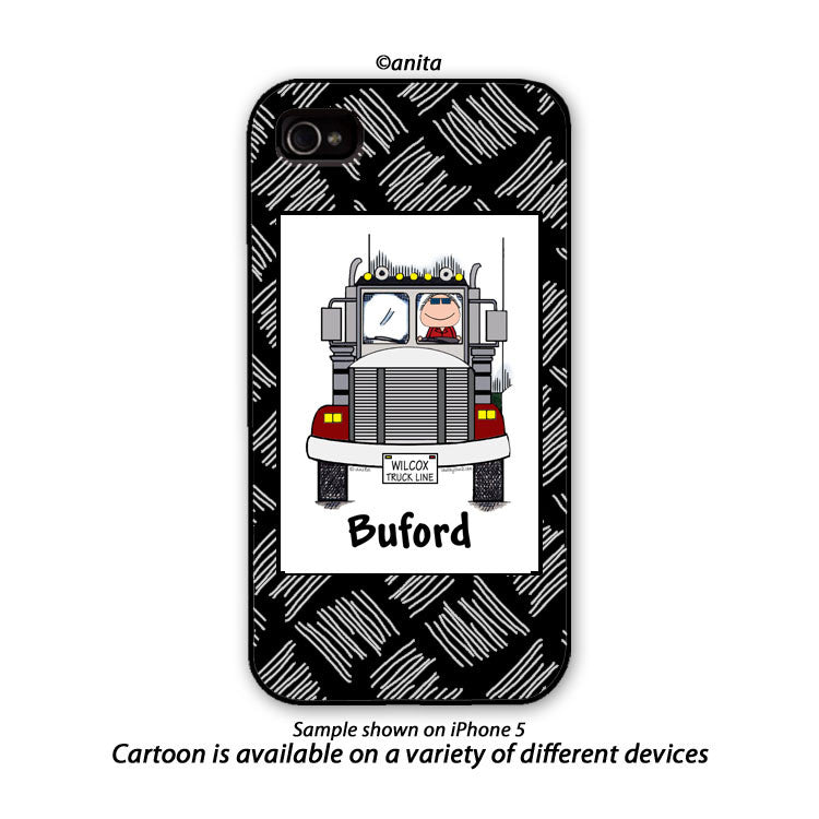 Truck Driver Phone Case - Personalized