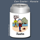 Hunter Can Cooler Male Personalized