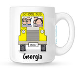 School Bus Driver Mug - Female | Personalized Coffee Mug