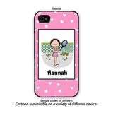 Tennis Phone Case Female - Personalized