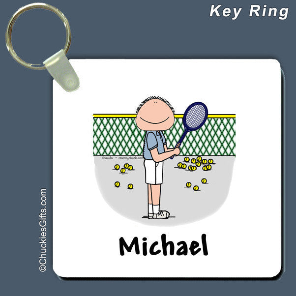 Tennis Key Ring | Value Collection