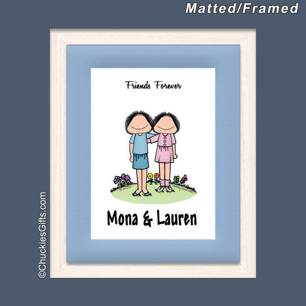 Friends Mat/Frame | Value Collection
