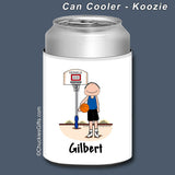 Basketball Can Cooler Male Personalized