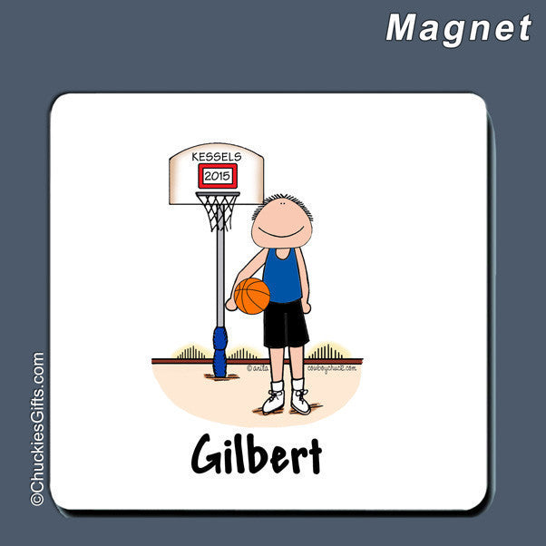 Basketball Magnet Male Personalized