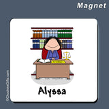 Attorney Magnet Female Personalized