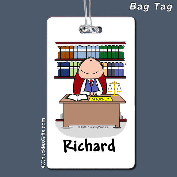 Attorney Bag Tag | Value Collection