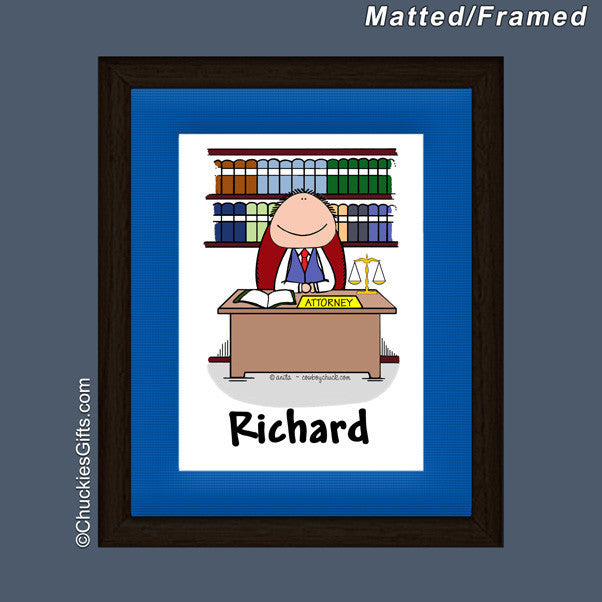 Attorney Mat/Frame  | Value Collection