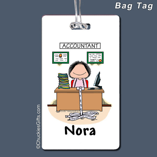 Accountant Bag Tag   | Value Collection