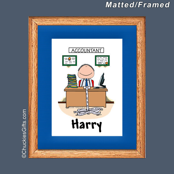 Accountant Mat/Frame   | Value Collection