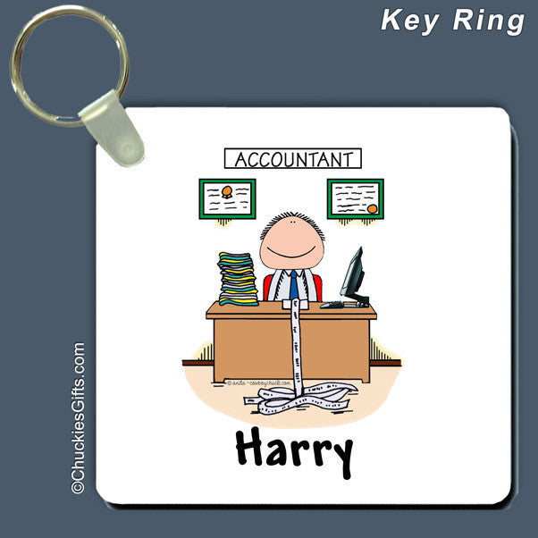 Accountant Key Ring  | Value Collection
