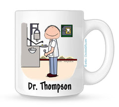 Dentist Mug - Male | Personalized Coffee Mug