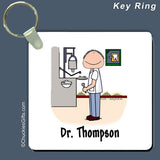 Dentist Key Ring Male Personalized
