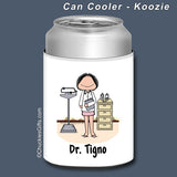 Doctor Can Cooler Female Personalized