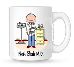 Doctor Mug - Male | Personalized Coffee Mug