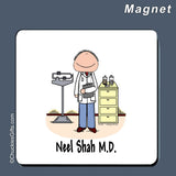 Doctor Magnet Male Personalized