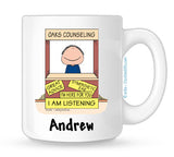 Personalized Therapist Mug Male
