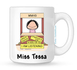 Personalized Therapist Mug Female