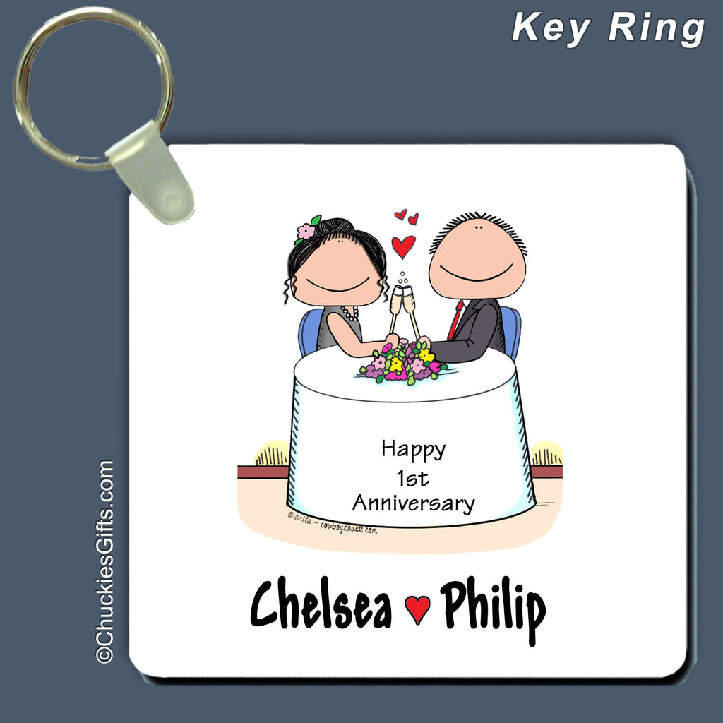 Anniversary Key Ring | Value Collection