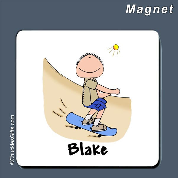 Skateboarder Magnet  | Value Collection