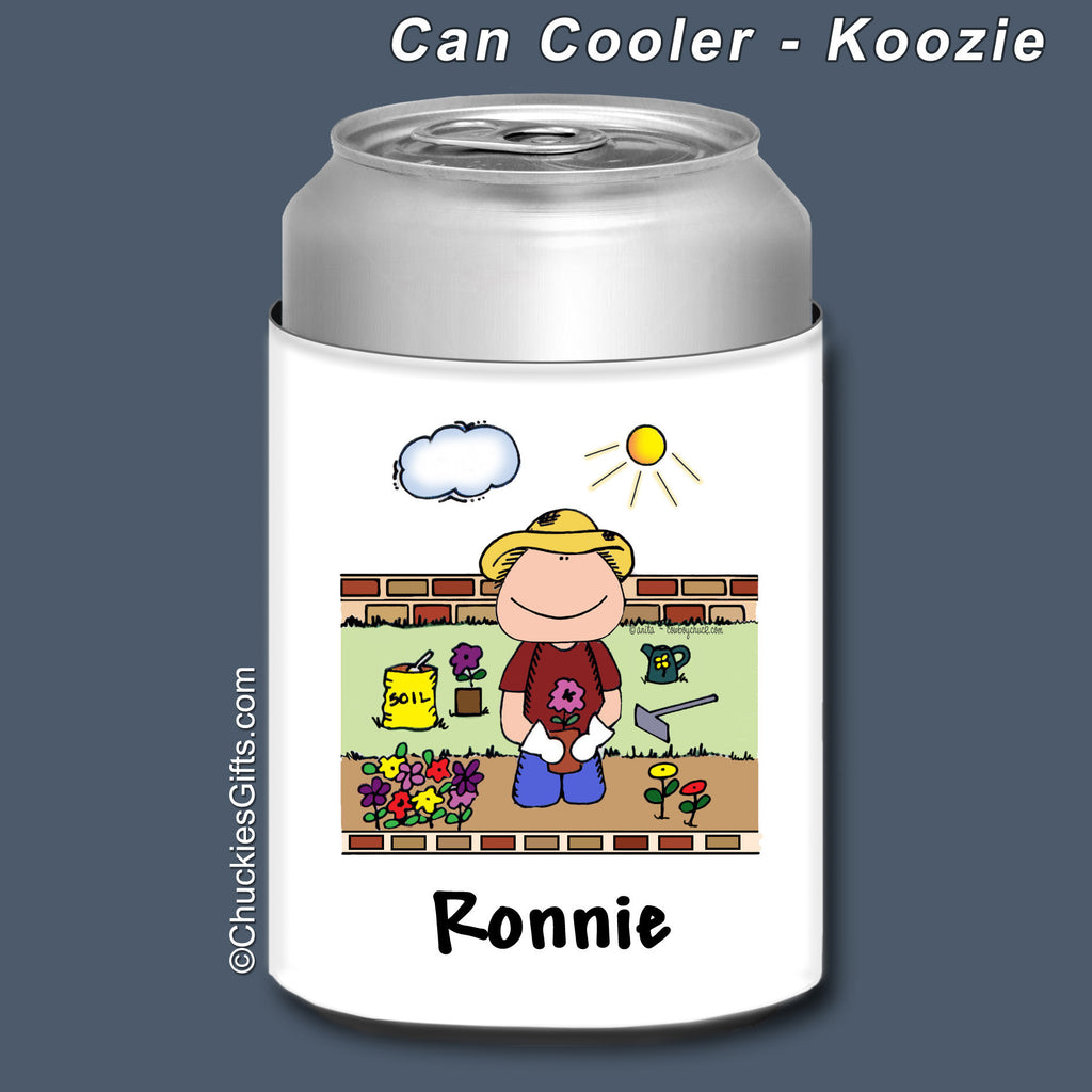 Gardening Can Cooler Male Personalized