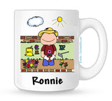 Gardening Mug Male Personalized