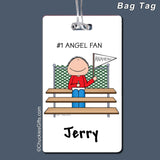 #1 Fan Bag Tag Male - Personalized