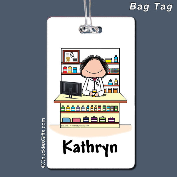 Pharmacist Bag Tag | Value Collection