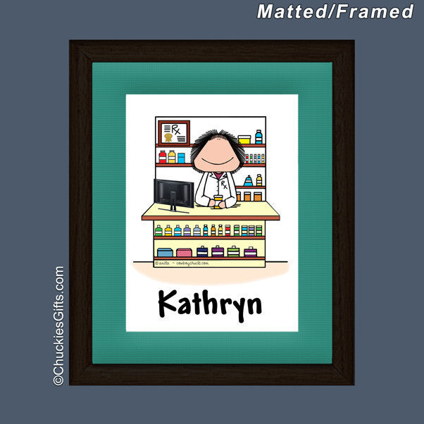 Pharmacist Mat/Frame | Value Collection