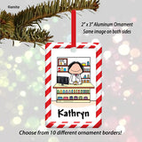 Pharmacist Ornament Female - Personalized