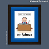Pharmacist Mat/Frame Male Personalized