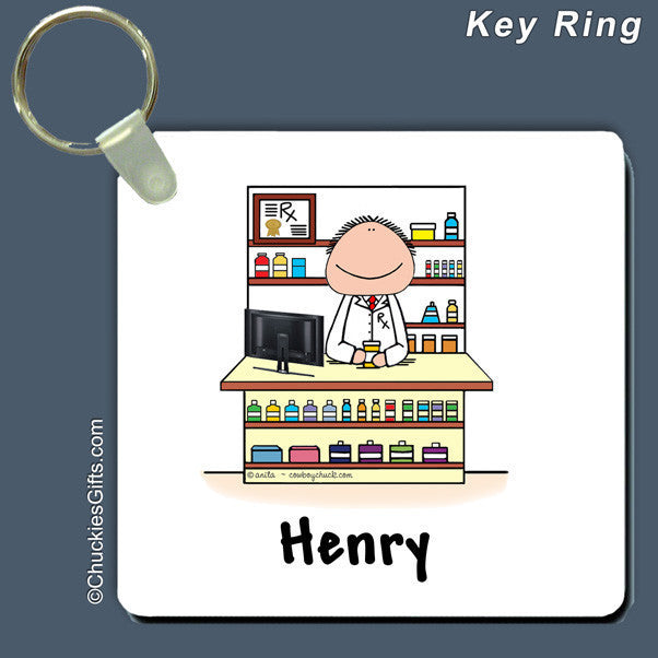 Pharmacist Key Ring | Value Collection