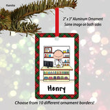 Pharmacist Ornament Male - Personalized