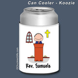 Minister Can Cooler Male Personalized