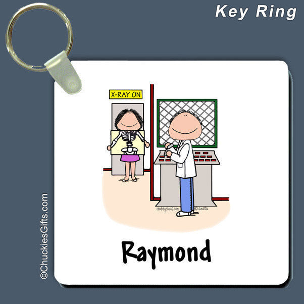 X-Ray Technician Key Ring | Value Collection