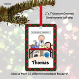 Physical Therapist Ornament Male - Personalized