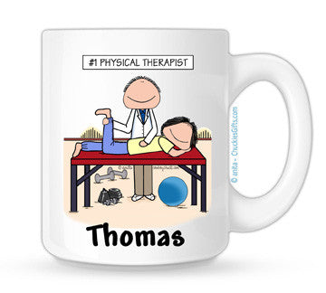 Personalized Physical Therapist Mug Male