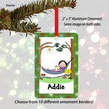 Retirement Ornament Female - Personalized