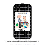 Occupational Therapist Phone Case Male Personalized