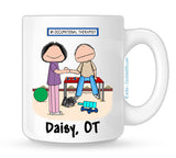 Personalized Occupational Therapist Mug Female