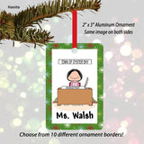 Office Ornament Female - Personalized