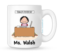 Office Mug Female - Personalized