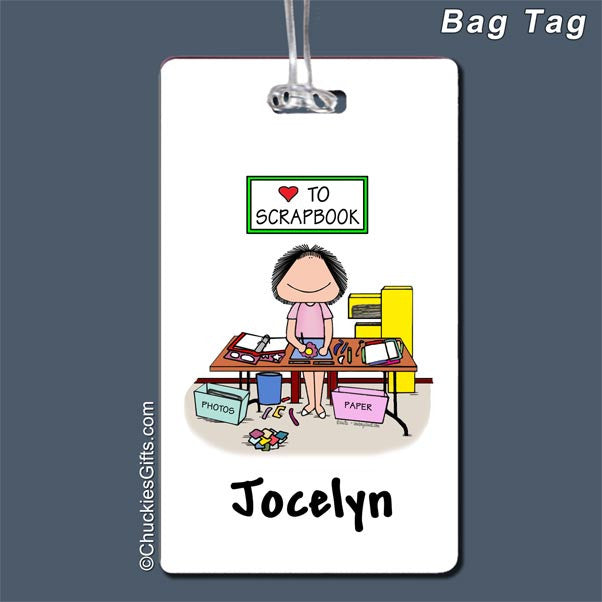 Scrapbooker Bag Tag | Value Collection