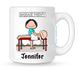 Massage Therapist Mug Female Personalized