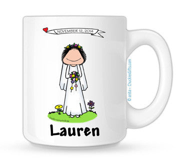Bride Mug Female - Personalized