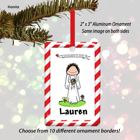 Bride Ornament - Personalized