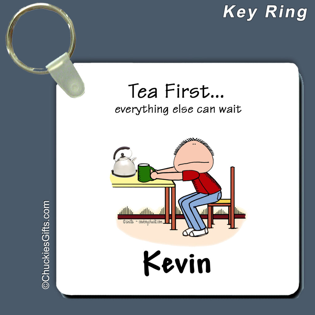 Tea First Key Ring | Value Collection