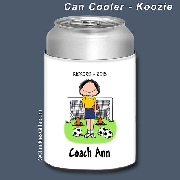Soccer Coach Can Cooler | Value Collection
