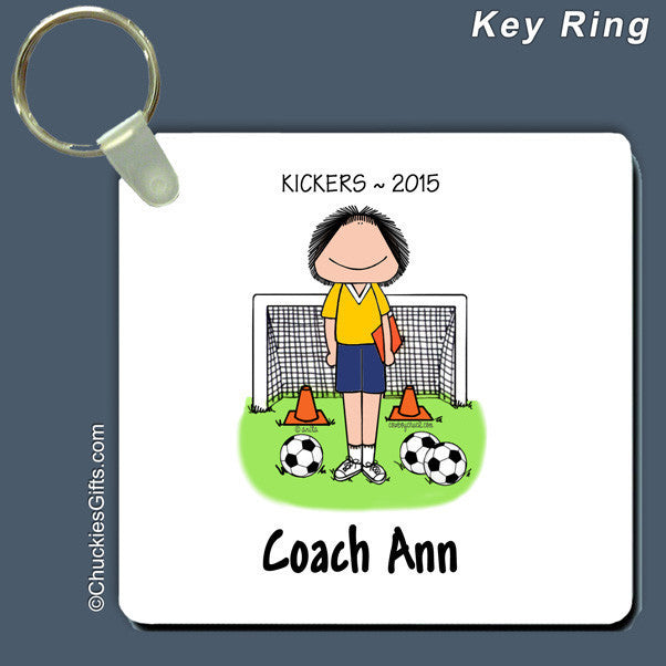 Soccer Coach Key Ring | Value Collection
