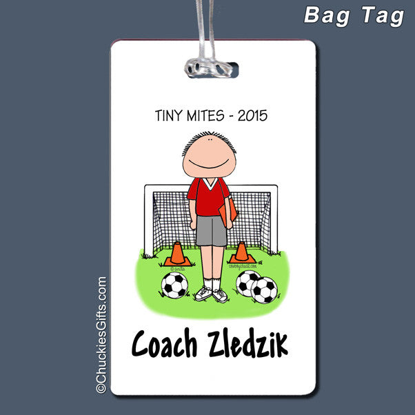 Soccer Coach Bag Tag | Value Collection