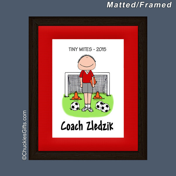 Soccer Coach Mat/Frame | Value Collection